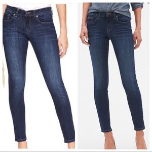BANANA REPUBLIC skinny fit JEANS distress wash 31